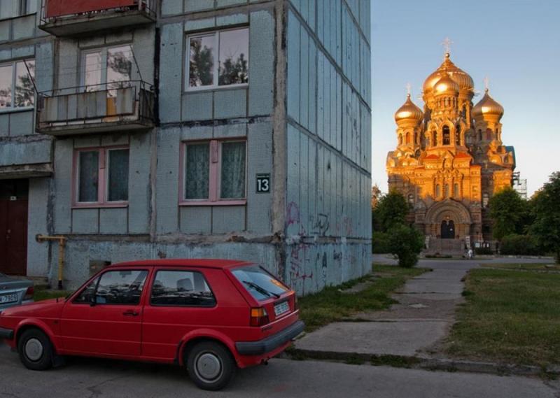 russisch gebouw riga